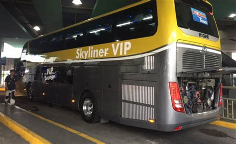 Premium double-decker buses now operating in EDSA - Update