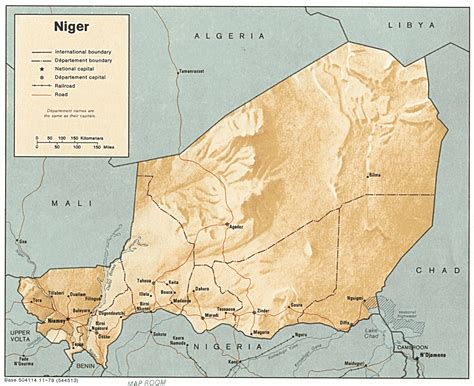 Maison Tropicale: Niger Geography
