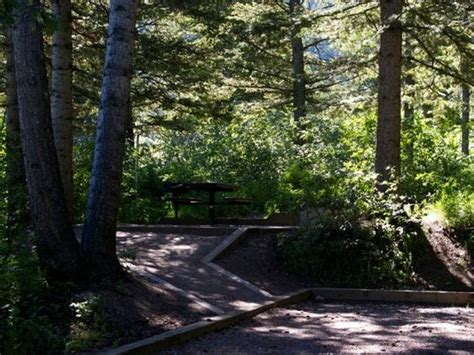 Caribou National Forest Scout Mountain Campground