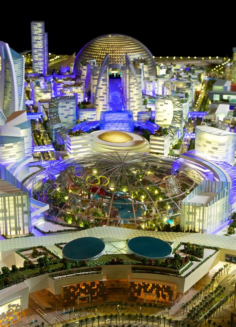Gallery of Dubai Plans Mall of the World, the First Ever