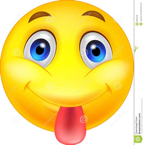 Smiley Face With Tongue Sticking Out   Clipart Panda