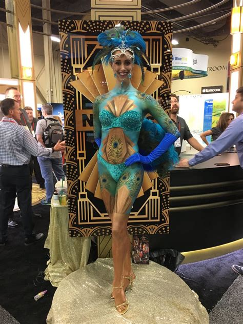 Best Body Painting Convention Talent Painter Artists in