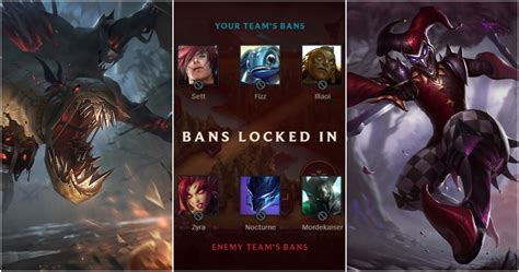 League Of Legends: The 15 Most Banned Champions Ever