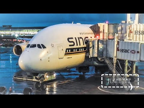 Review: Singapore Airlines A380 Economy Class New York to