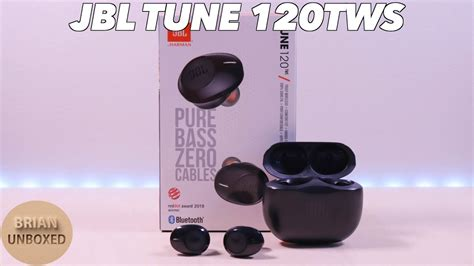 JBL TUNE 120TWS - All about that BASS! (Review) - YouTube