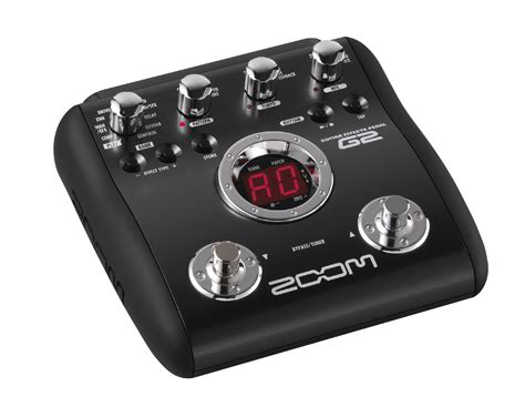 G2 Guitar Effects Pedal | Zoom