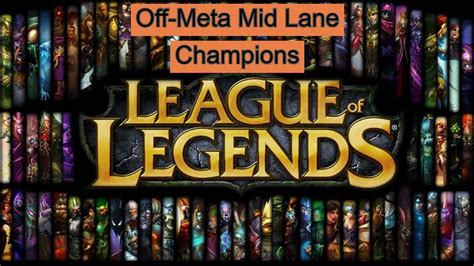 The Best Off-meta Mid Laners in League of Legends
