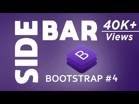 33 Bootstrap Sidebar Examples To Increase Accessibility Of