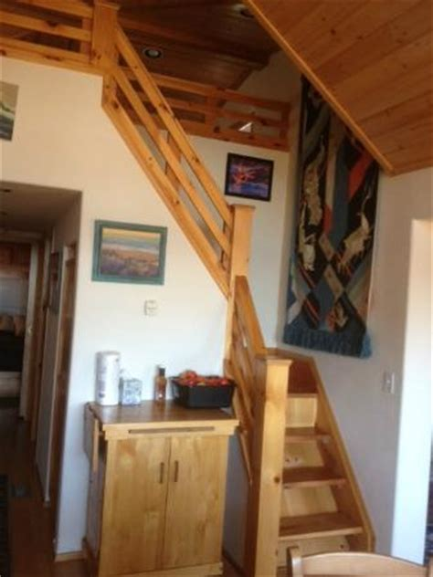 narrow, steep stairs for older adults - Picture of